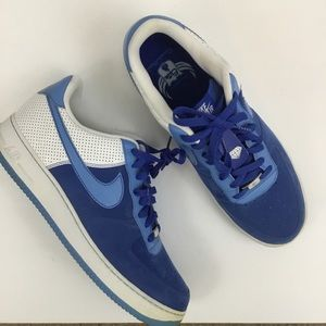 Nike Air Force 1 07 AF-1 XXV Blue White Sneakers